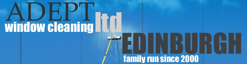 Adept Window Cleaner Edinburgh Services Footer Banner